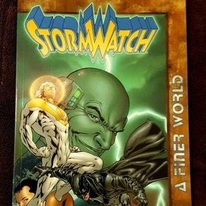 STORMWATCH A Finer World Warren Ellis TPB